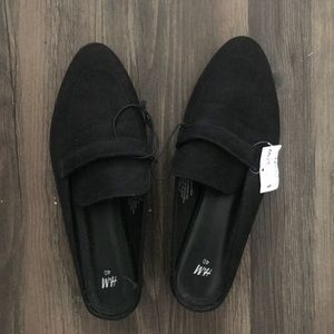H&M Black Mules